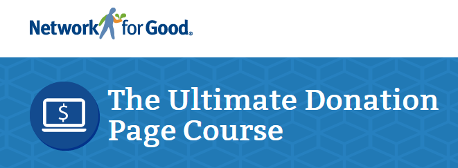 Ultimate Donation Page Course