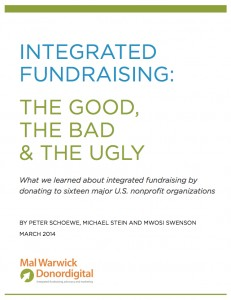 Integrated Fundraising Report by DonorDigital