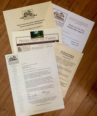 Stickley Museum Welcome Pack