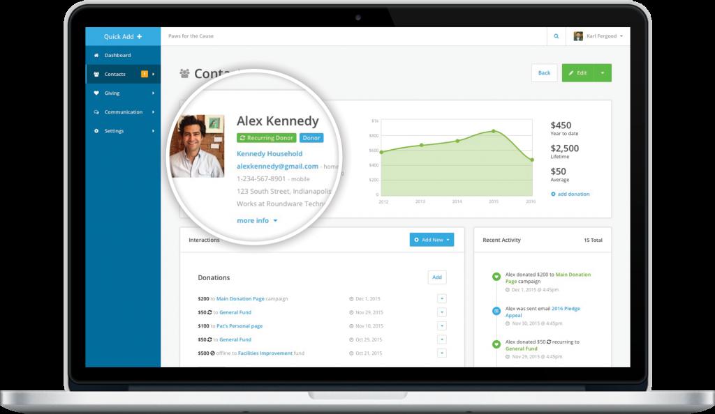 donor-management-software-system-screenshot