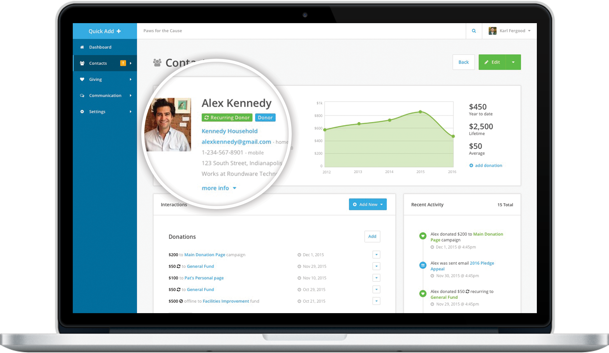 Save 2-3 Hours a Day with Donor Management Software