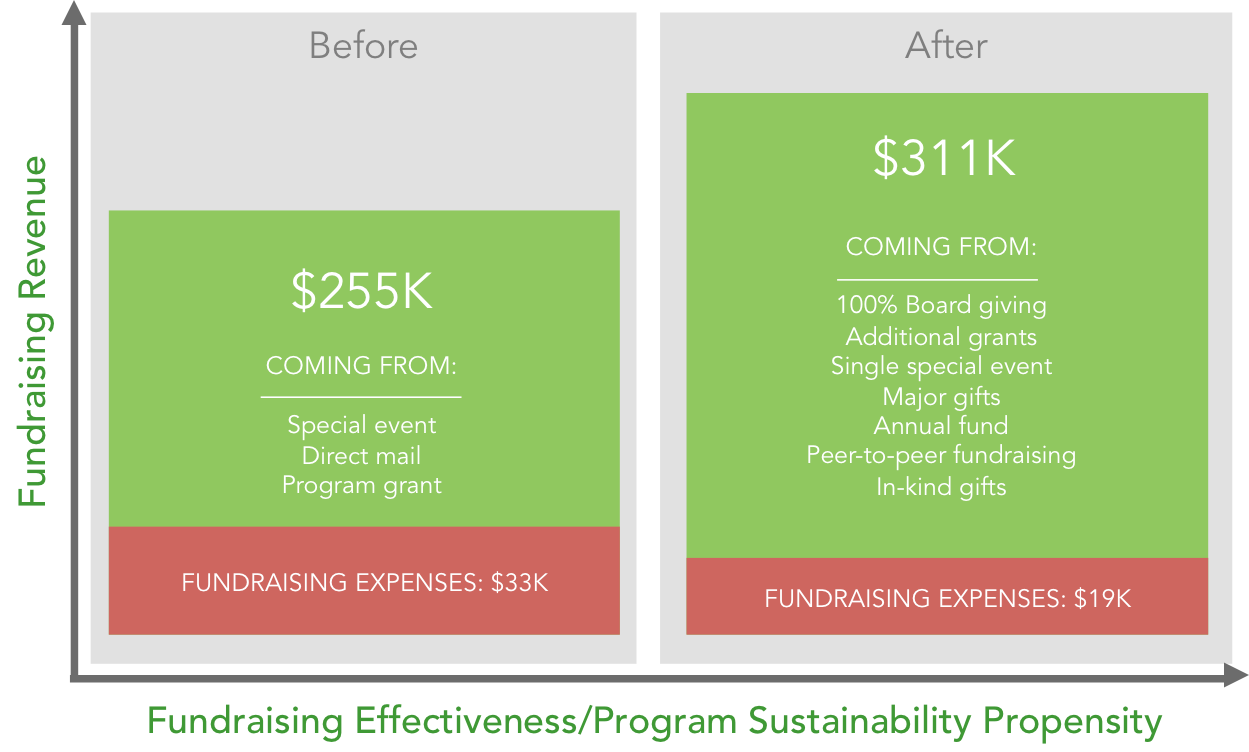 Nonprofit Fundraising Results
