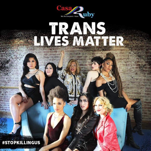 Casa Ruby provides social services and programs catering to the most vulnerable population, Transgender Women and Immigrants of Color.