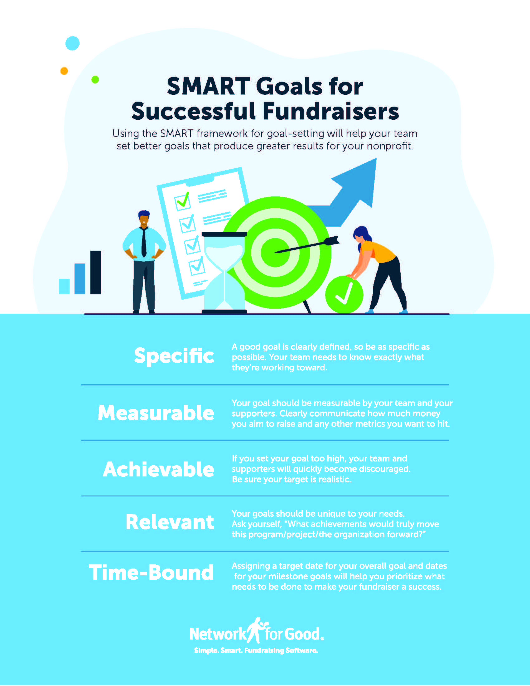 How to Set SMART Goals for Year-End Giving