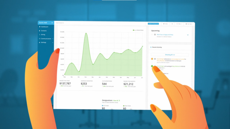 All-in-one fundraising software for small nonprofits making a big difference