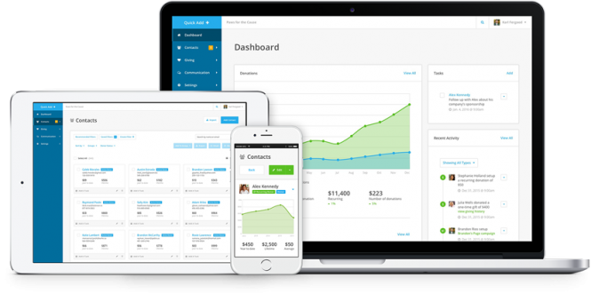 Donor Management And Fundraising Software Network For Good