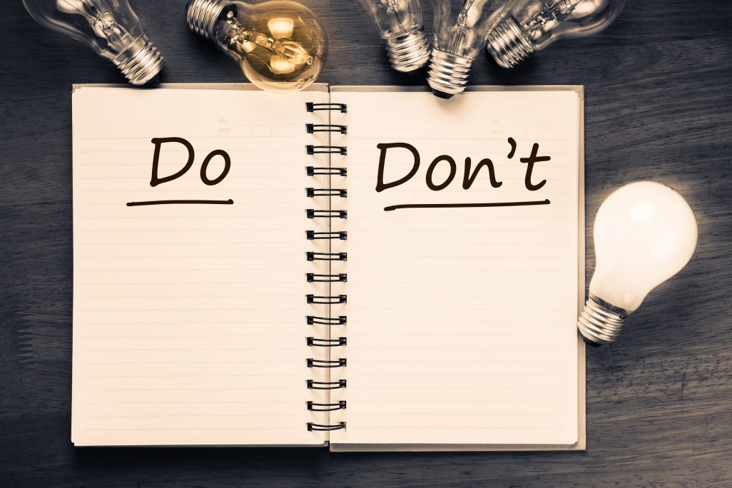 The Do's and Don'ts of Advertising on Social Media