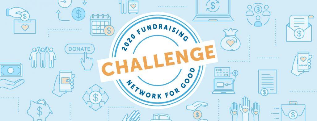 Take the #2020FundraisingChallenge