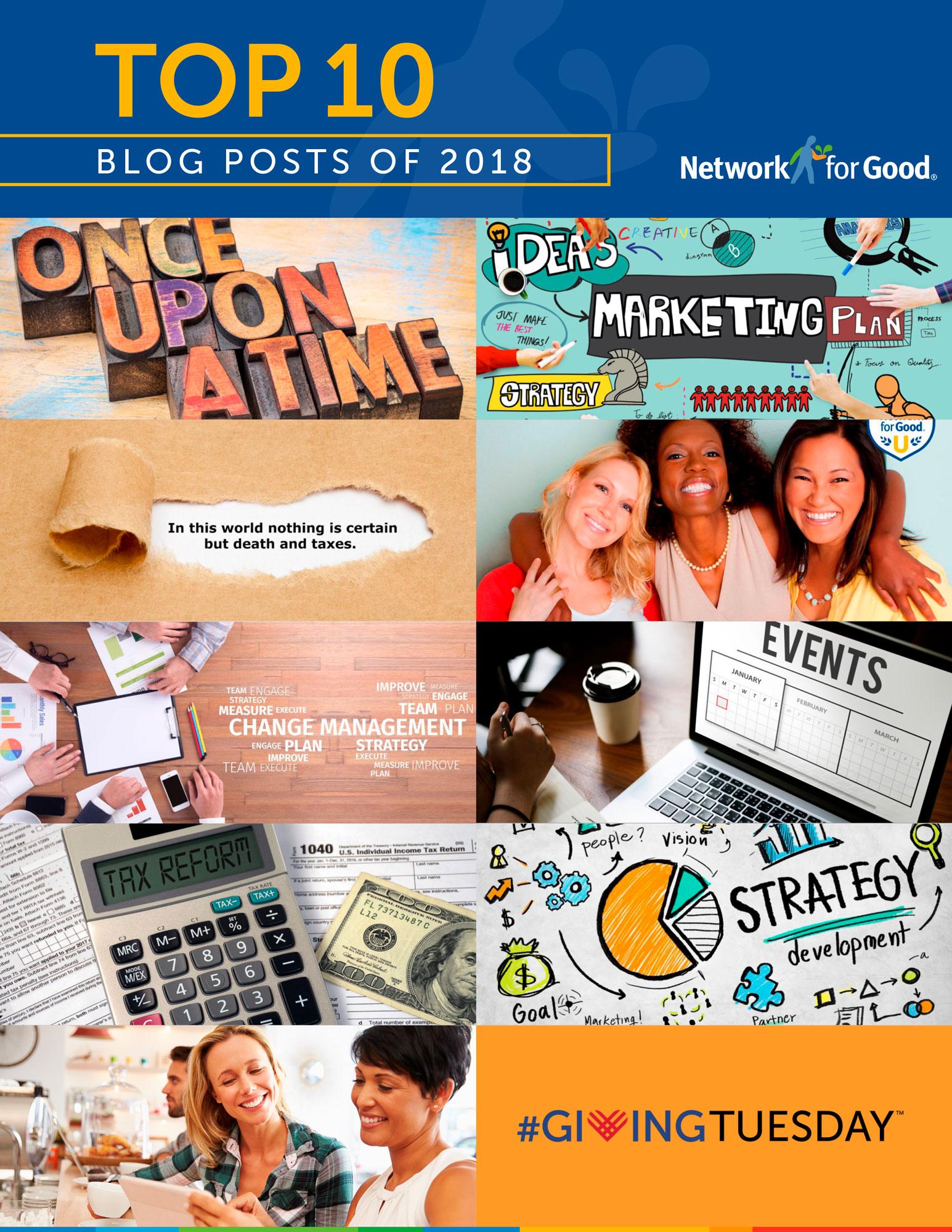 Top fundraising content blogs 2018